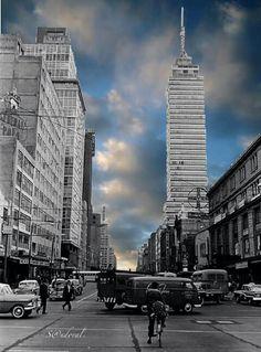 Avenida san Juan de Letrán, 1956.