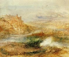 J.M.W.Turner, Ehrenbrietstein And Coblenz