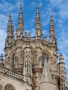 The Cathedral of Borgos, Spain   DSC10504BurgosTaarnOgTaarnOgTaarn.JPG