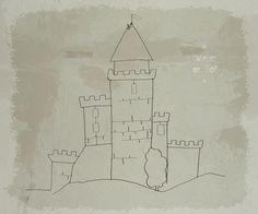 A l'époque des chevaliers - en fil de fer by latelierdesof