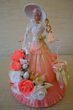 DIY Barbie Chocolate Bouquet