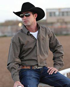 Cinch® Men's Colin Stripe Shirt::Fort Western Online
