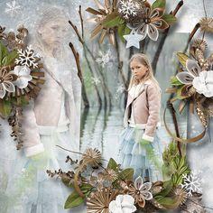 """Winters Frost"" by Designs by Brigit  https://www.digitalscrapbookingstudio.com/designs-by-brigit/"