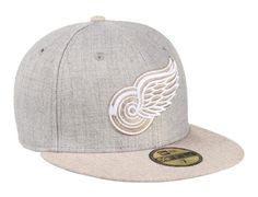 Gray Blender Detroit Red Wings 59Fifty Fitted Cap by NHL x NEW ERA