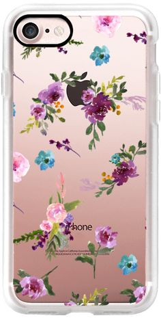 Casetify iPhone 7 Classic Grip Case - MY ROSE GARDEN by MONIKA STRIGEL by Monika Strigel #Casetify