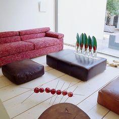 #rozivaragi #custommade #sofa #leathertable #floorcushion #interiordesign #decorating with #fruits and #vegetables #custommadefurniture #greece #athens