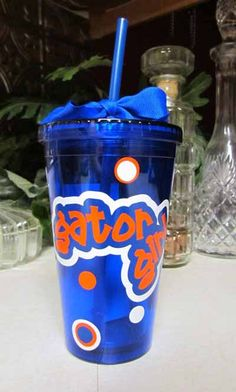 "Florida Gators ""Gator Girl"" Tumbler"