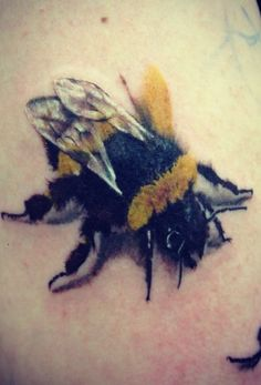 Bee Tattoo 3D