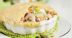 Acid reflux-friendly recipe: Chicken pot pie