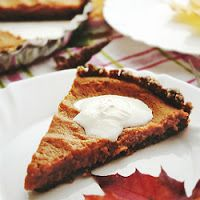 GOODFOOD: THE HEALTHIEST PUMPKIN PIE EVER