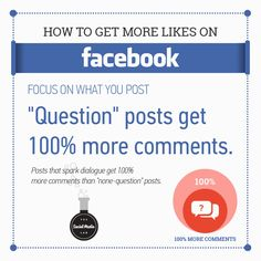 Social Media Tips, Social Media Marketing, More Likes On Facebook, How To Get, This Or That Questions, Business, Store, Business Illustration