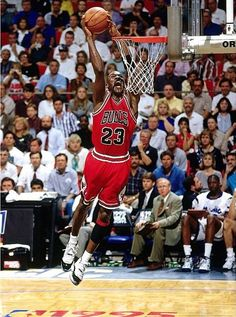 Michael Jordan 1994-95 Action Glossy Photograph