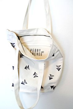 riangle Tote Bag, Geometric