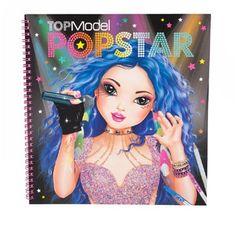 Top Model Popstar ontwerpboek