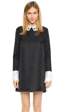 Rachel Zoe Luke Long Sleeve Shirt Collar Dress   SHOPBOP