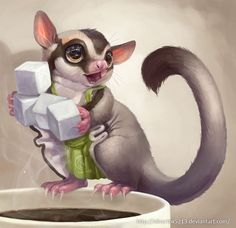 Anthropomorphic art involves combining human physical or behavioral traits onto anything that is not human. Cute Animal Drawings, Animal Sketches, Cute Drawings, Fox Character, Character Design, Character Ideas, Cartoon Pics, Cartoon Drawings, Sugar Glider Pet