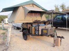 Is this better? Jeep Camping Trailer, Bug Out Trailer, Trailer Tent, Off Road Trailer, Tent Campers, Trailer Build, Truck Camping, Camper Trailers, Ute Camping