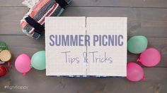 Summer Picnic Tips and Tricks
