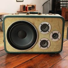 vintage speaker suitcase - Google Search
