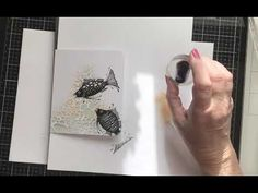 Lavinia Stamps - Beautiful Fish and a Stencil. - YouTube Lavinia Stamps, Beautiful Fish, Handmade Cards, Stencils, Card Making, Tutorials, Crafty, Youtube, Templates