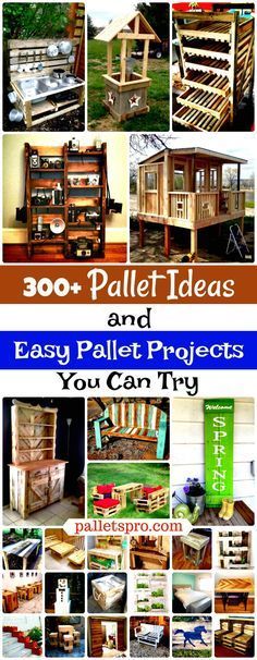 We would like here to peak into the DIY pallet projects only and have brought these 300+ pallet ideas, all from genius people around the globe and would