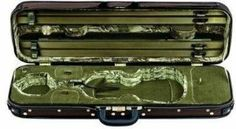 Gewa Original Jaeger Prestige Oblong De Luxe 4/4 Violin Case by Gewa. $904.00. High quality case made in (and sent from) Germany  Gewa Violin case: Original Jaeger Prestige Line 4/4  De Luxe violin oblong case Thermo shell Padded suspension system Weight approx. 2,9 kg screw attached cover with large music pocket, water repellent GEWA swivel type holder patented flexible bow holder blanket Accessory compartments Leather handle 2 detachable Neopren rucksack straps Silk blanket Ext...