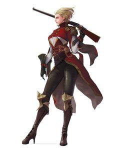 y keonhee han on ArtStation. Dungeons And Dragons Characters, Dnd Characters, Fantasy Characters, Female Characters, Female Heroines, Fantasy Rpg, Medieval Fantasy, Fantasy Girl, Female Character Concept