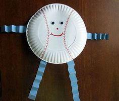 October morning: opening day crafts sports art, baseball act