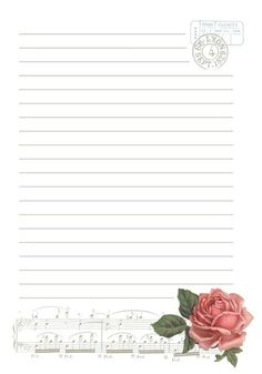 The 114 Best Printable Stationary | Printable Lined Paper Printable Lined Paper, Free Printable Stationery, Printable Recipe Cards, Lined Writing Paper, Notebook Paper, Journal Paper, Bullet Journal Ideas Pages, Stationery Paper, Note Paper