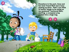 FREE app March 28th: The Litter Monster« is the first in the series of interactive UMKO books for children featuring UMKO the little alien. UMKO is positive character, always smiling willing to help, a great friend of children and their perfect role model.