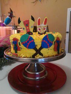 Torta carnavales en Riohacha