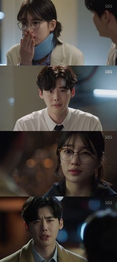 "[Spoiler] Suzy helps Lee Jong-suk on ""While You Were Sleeping - 2017"""