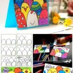 How+to+make+an+easy+Easter+postcard