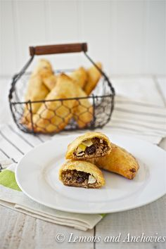 Chilean Beef Empanadas - perfect to made ahead and stored in the freezer. Don't forget to make and serve these with Pebre!