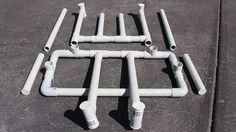PVC Drying racks for scuba gear and Drysuit