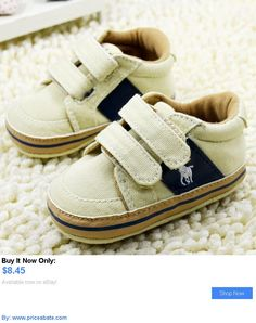 Baby Boy Shoes: Baby Toddler Infant Boy Girl Velcro Soft Sole Crib Shoes Sneaker Size 0-18Months BUY IT NOW ONLY: $8.45 #priceabateBabyBoyShoes OR #priceabate