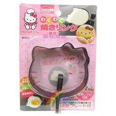 Hello Kitty Pancake Mold  #HelloKitty #Toy