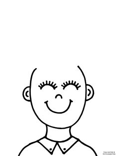 Coloring pages Where is my hair? Creative Activities For Kids, Autumn Activities, Art Activities, Kindergarten Activities, Preschool Activities, Art For Kids, Crafts For Kids, Cutting Activities, Wax Crayons