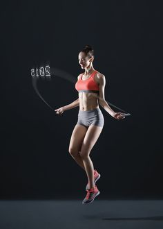 Connect  Smart Rope to your phone and track your workout!  #fitness #health Details here: http://flowily.com/portfolio/items/smart-rope-gives-you-a-jump-on-health/#!