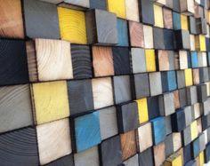 Reclaimed Wood Wall Art Large Wall Art Wood Wall Sculpture