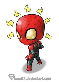Little Spider-man by *shamserg on deviantART