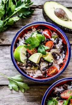 Cuban-style black beans + rice with coconut cream l The Clever Carrot