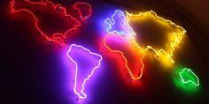 mapa z neonów 3