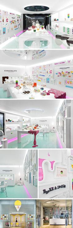 Cioccolato Bakery Boutique - Monterrey, Mexico. such a cute design!