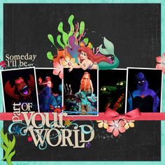 Voyage of the Little Mermaid - MouseScrappers.com