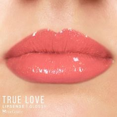 True Love LipSense by SeneGence is a Limited Edition & part of the Love Story Collection.  Described as a soft pink peach shade with gorgeous sparkling gold glitter, this color is a MUST have lipcolor.  Add it to your collection today!  #truelove #truelovelipsense #lovestorycollection #senegence #valentinesdaylip
