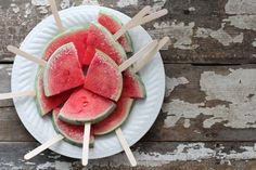 Got a knife and a popsicle stick? If so, you can make one of our favorite summer party hacks for kids. | Nutrition Stripped