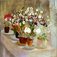 Winifred Nicholson  Cineraria and Cyclamen 1927