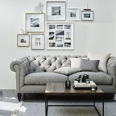 Update your living room with a side table that combines high quality design and style alongside versatility. Discover the range at The White Company today. Decor, Armchair Furniture, Scatter Cushions, Photo On Wood, Sofa, Furniture, Wood Photo Frame, Interior Design, Home Decor