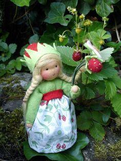 Diy Doll Pattern, Felt Baby, Flower Fairies, Beaded Ornaments, Waldorf Dolls, Felt Dolls, Gift Bags, Needle Felting, Diy And Crafts